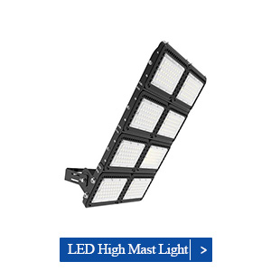 1000W Gas Station High Power LED Stadium Floodlights Perfect For Gas Station Using​